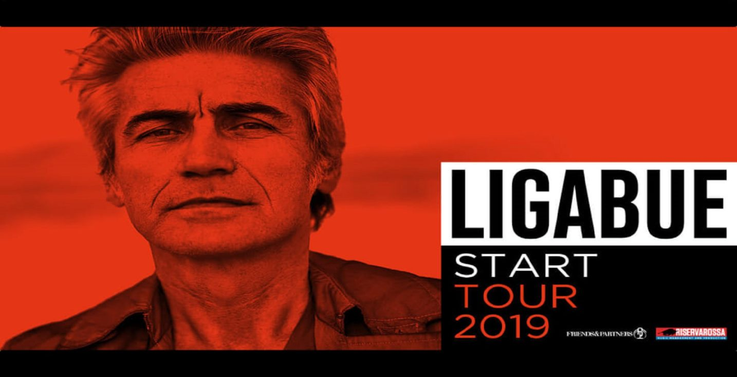 Ligabue cover of the 2019 tour in Italy